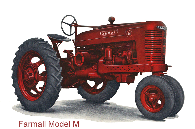 Farmall Model M Raymond Lowey Design BalenaLab