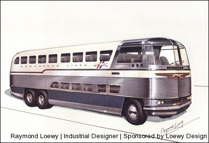Greyhound Scenicruiser, 1946 BalenaLab