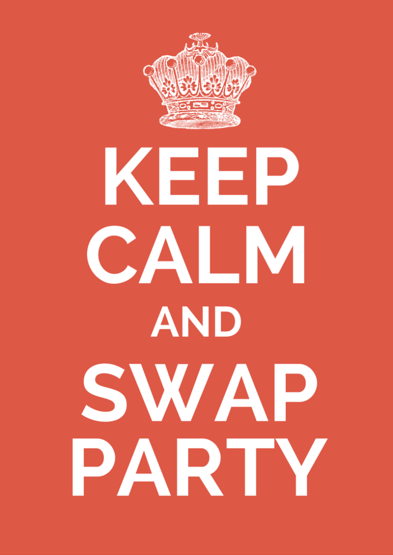 Keep calm and swap party storytelling 12