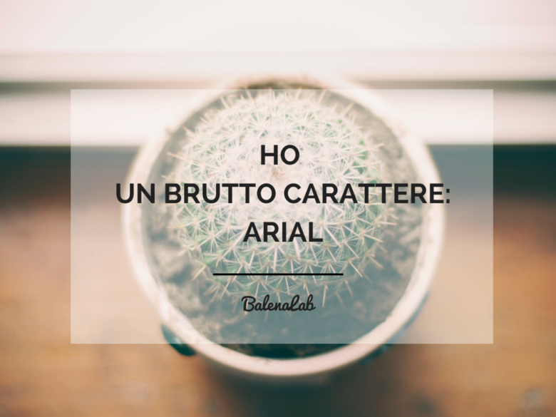 Copywriter Freelance: brutto carattere