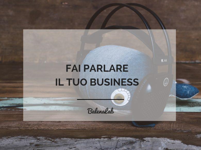 Audio Idee | business | voice over | freelance | chiara gandolfi | balenalab