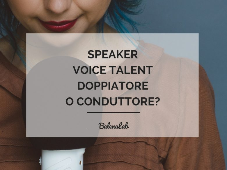 speaker pubblicitaria | voice talent | freelance | chiara gandolfi