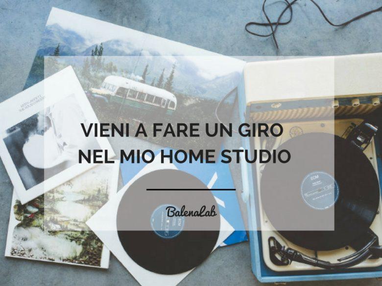 home studio | voce professionale | balenalab