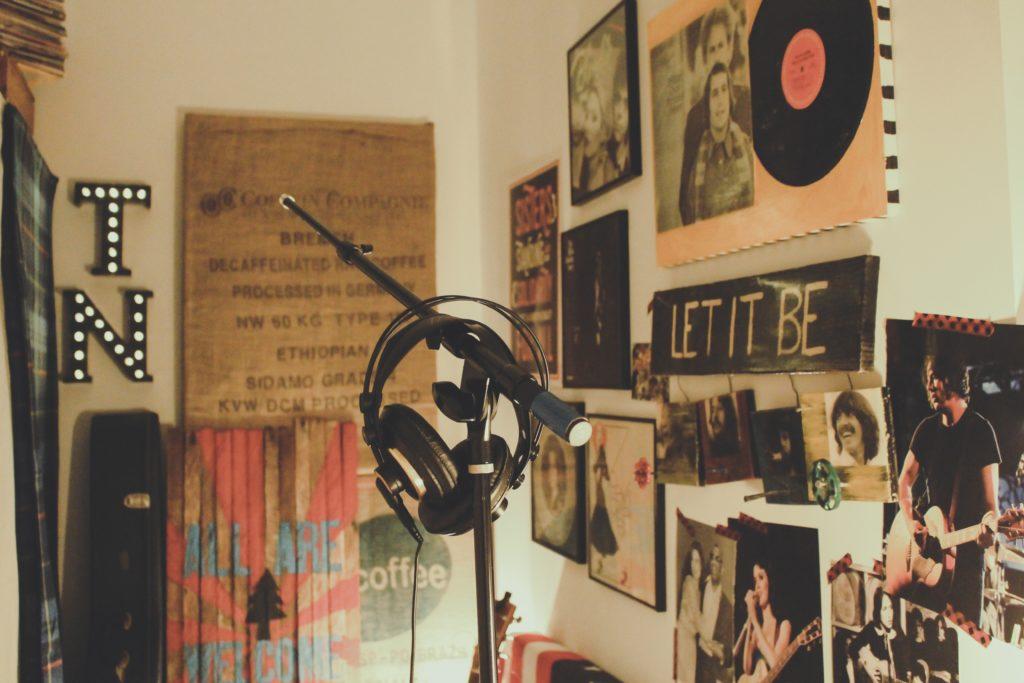 registrare voce in home studio