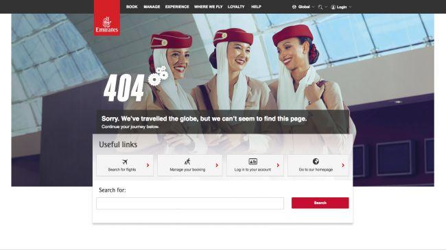 error page 404 creative esamples balenalab