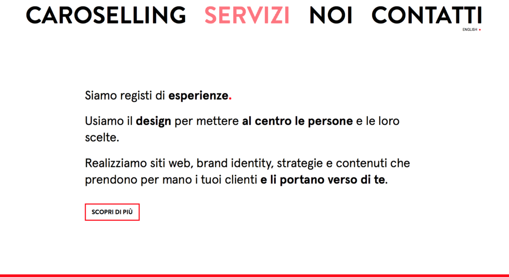 UX Web Design + Agenzia di Comunicazione a Mantova - Caroselling