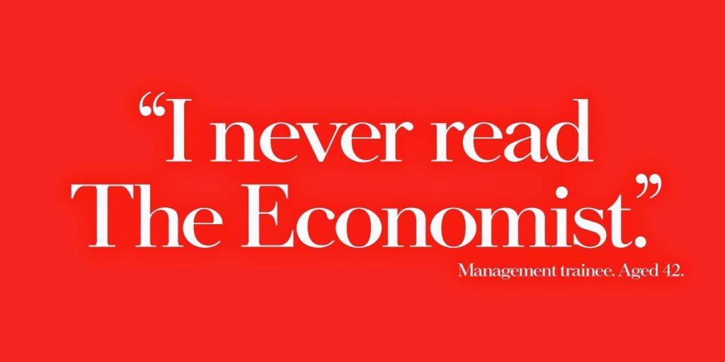Esempio di scrittura persuasiva | Economist