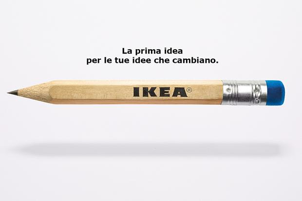 Concept Ikea: siamo fatti per cambiare