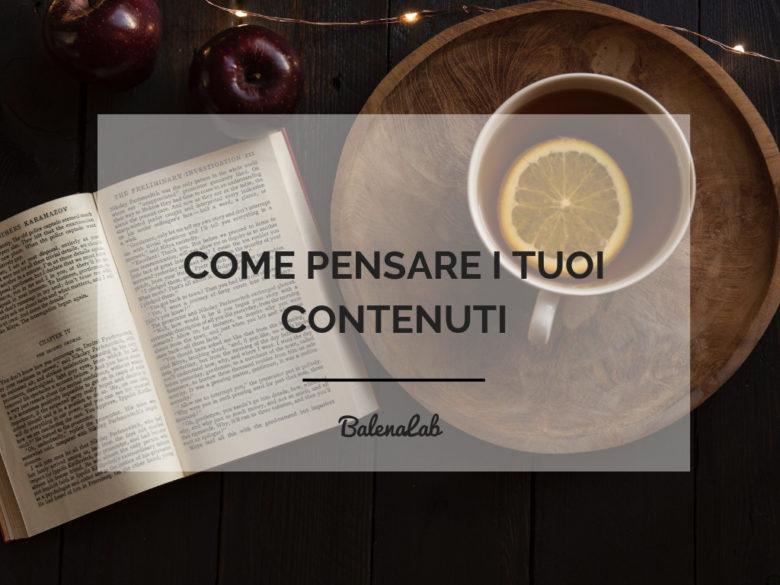 pensa contenuti